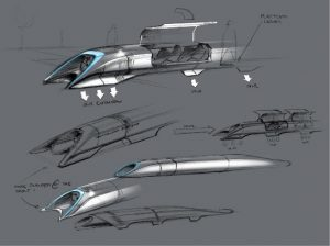 Hperloop Passenger Transport Capsule