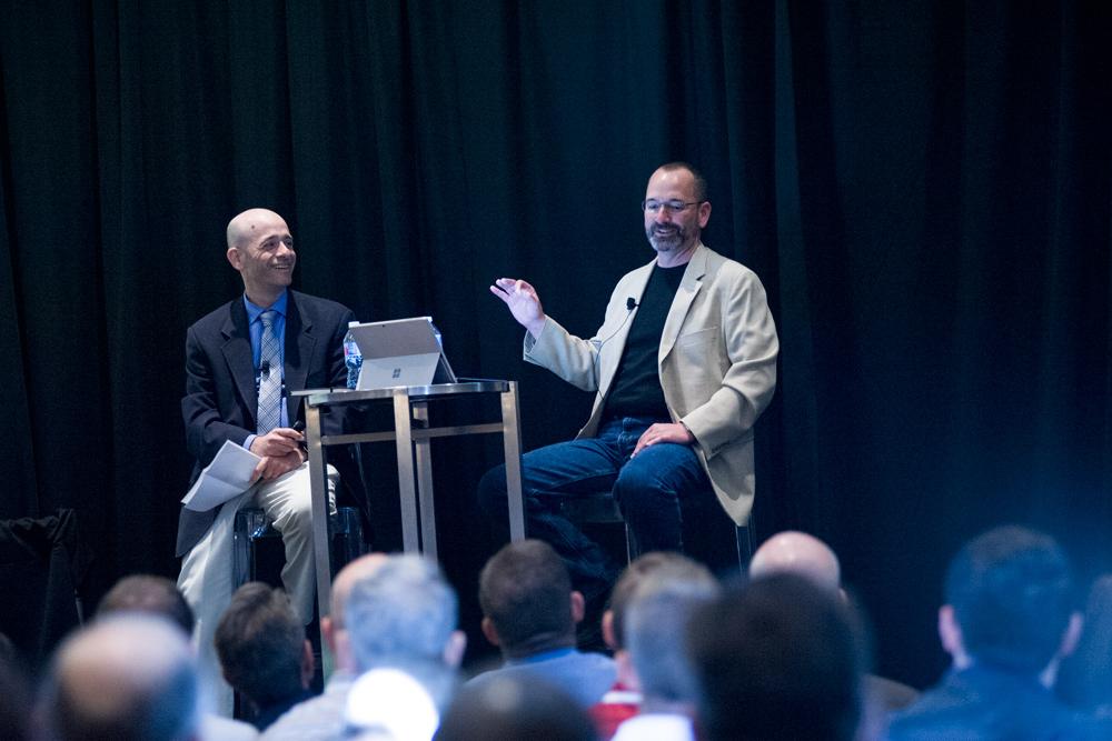 Adrian Gonzalez and Dan Dershem Talking Tech Trends