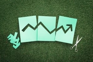 Green financial graph