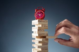 Planning, risk and strategy deadline time in business