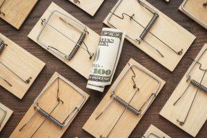 Mousetraps Business Concept