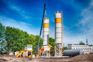 concrete mixing silo