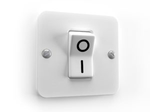 Interruptor on