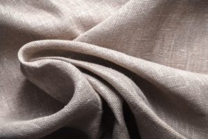Background made of linen folded napkins