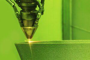 3D printer printing metal