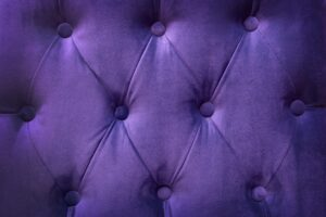 Quilted velvet purple background
