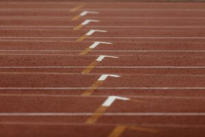 line marking athletic track